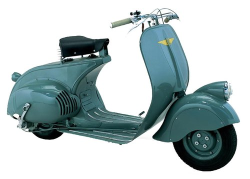 Vespa 98 scooter co tu bao tang Piaggio ve Viet Nam - 2