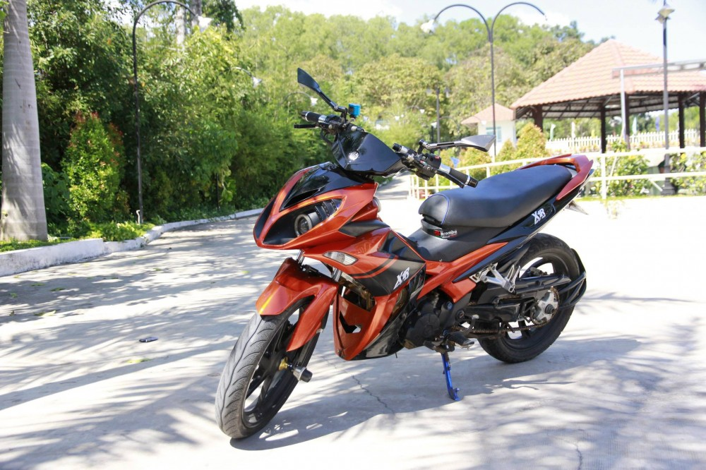 Yamaha X1R do sac cam doc dao voi 1 gap - 4