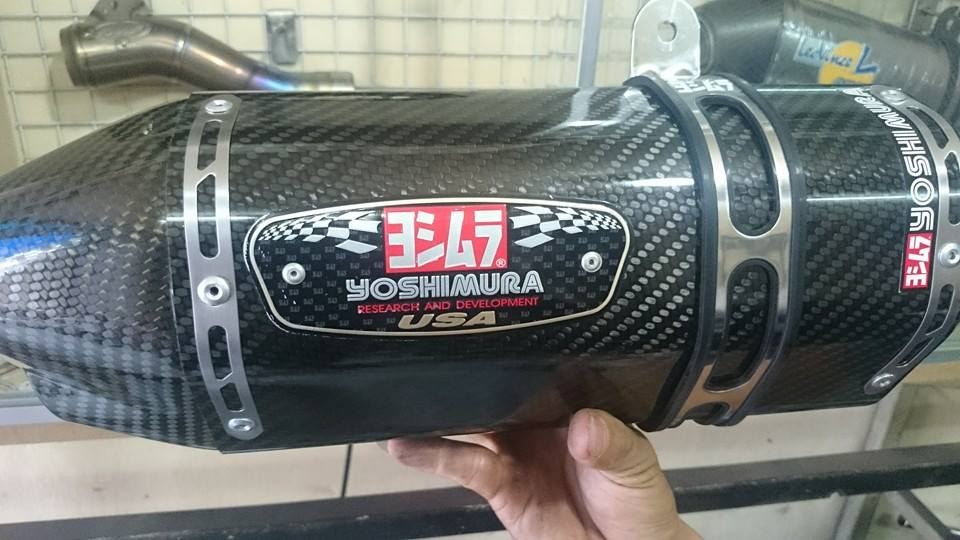 Can Canh Yamaha Fz150i do po Yoshimura to