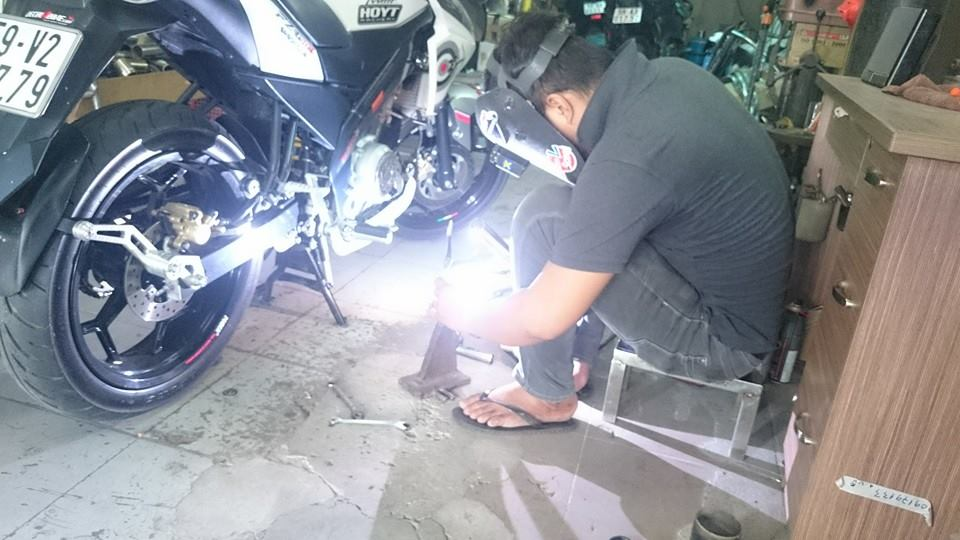 Can Canh Yamaha Fz150i do po Yoshimura to - 3