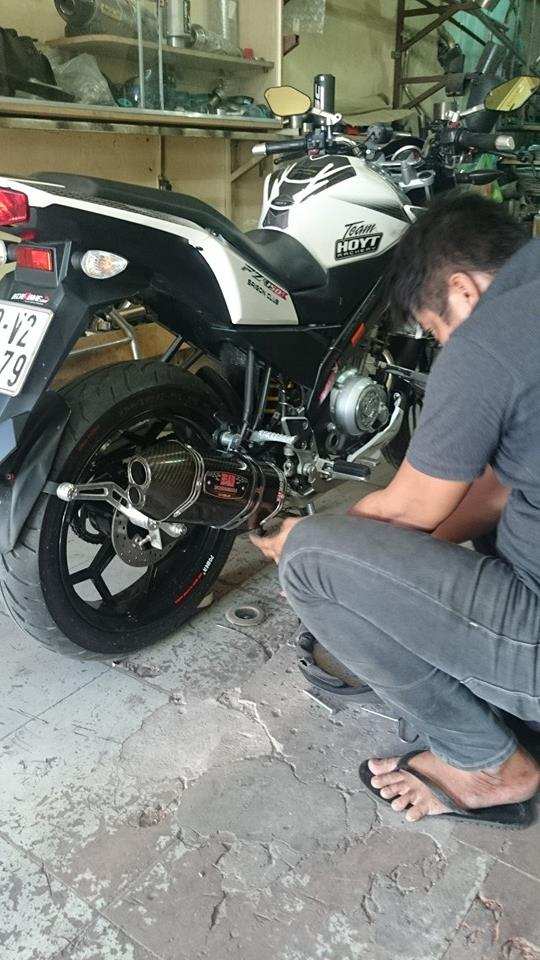 Can Canh Yamaha Fz150i do po Yoshimura to - 4