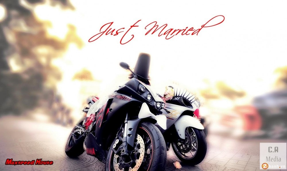 Cap doi Hayabusa va YZF R1 Get Married tai Sai Gon - 6