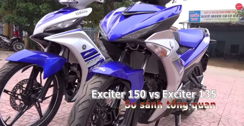 Exciter 150 do dang cung dan anh Exciter 135
