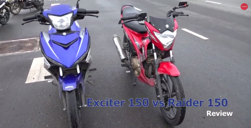 Clip Exciter 150 do dang Raider 150