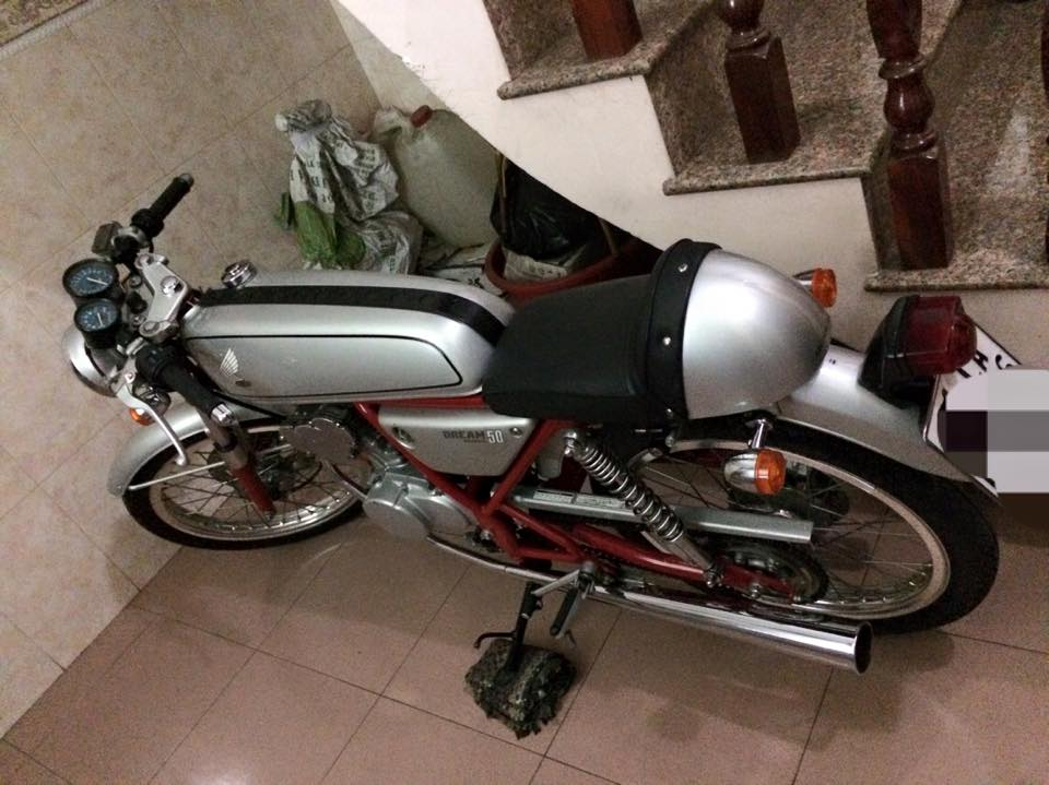 Honda Dream va cuc may chinh hang zin 147 kmh - 6