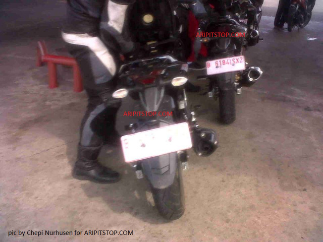 Jupiter Mx King 150 Lo anh chay thu tai Indonesia - 2