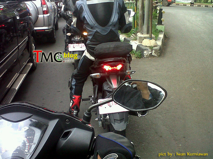Jupiter Mx King 150 Lo anh chay thu tai Indonesia - 3