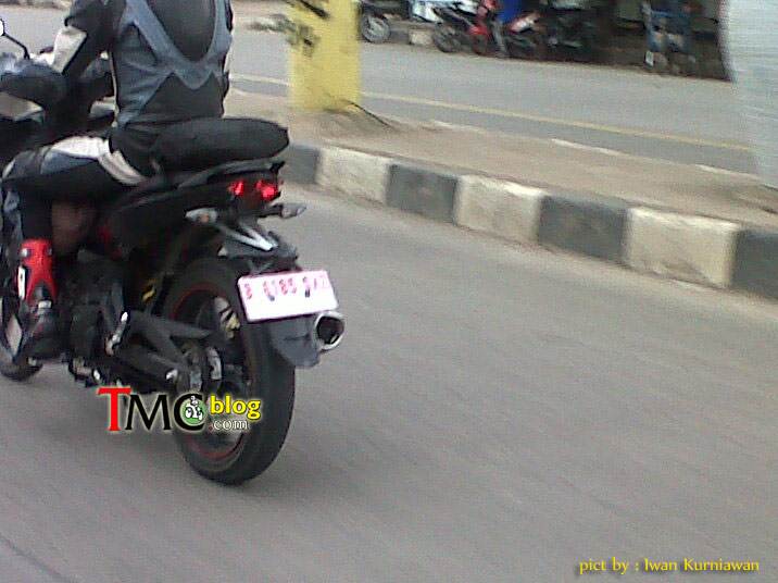 Jupiter Mx King 150 Lo anh chay thu tai Indonesia - 6