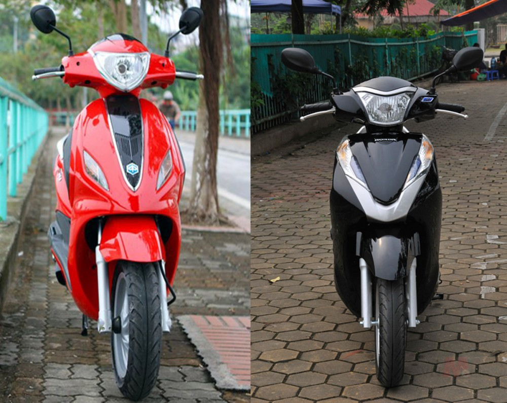 So sanh Honda Lead 125 va Piaggio Fly 3V 2015 - 2