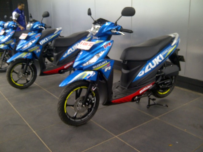 Suzuki Address them mau tem GP - 2