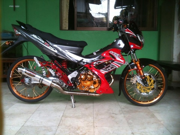 Suzuki Raider 150 Do kieng Racing Boy - 3