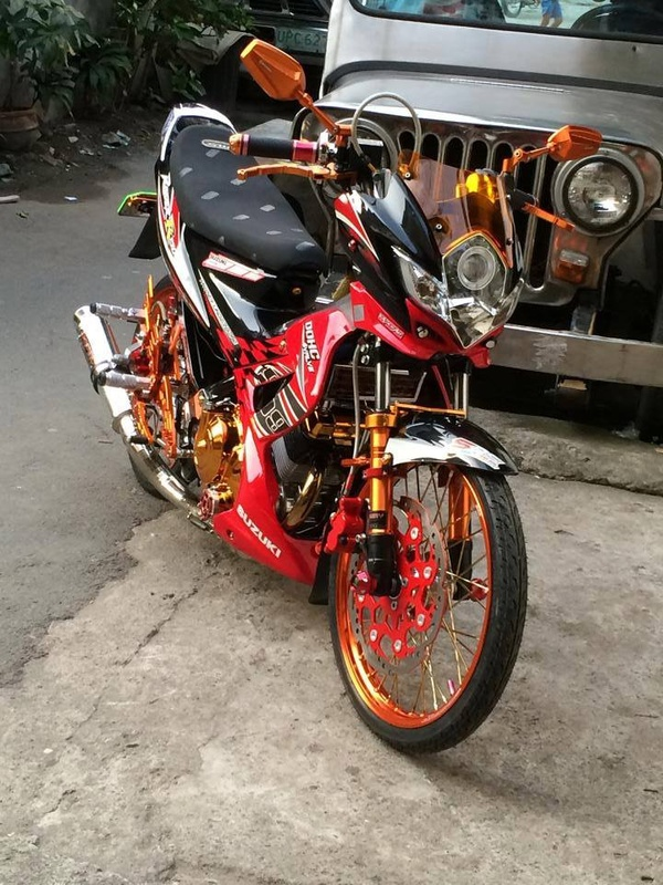 Suzuki Raider 150 Do kieng Racing Boy - 4