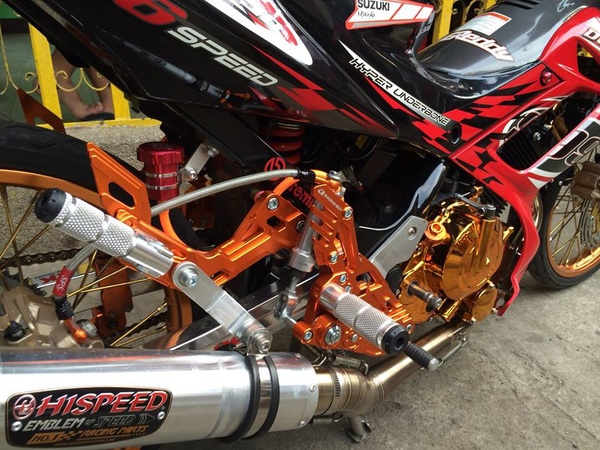 Suzuki Raider 150 Do kieng Racing Boy - 5