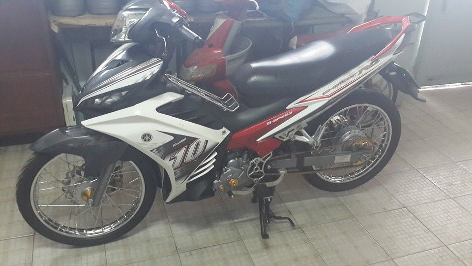Exciter 135 do nhe style moi don chao nam moi