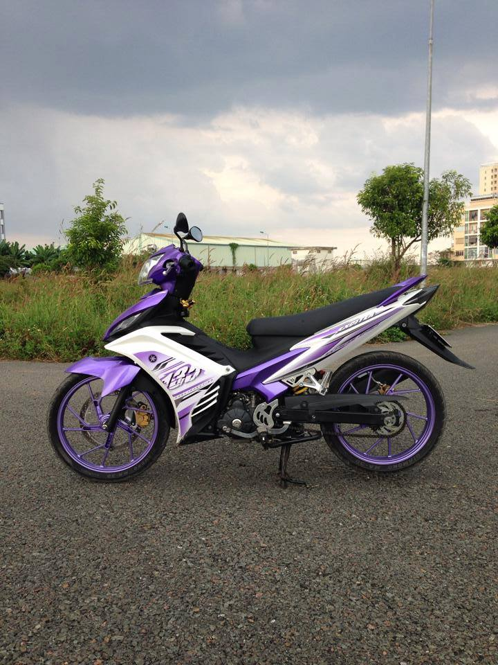 Exciter 135 phong cach tim thuy chung do len 150cc cuc chat - 2