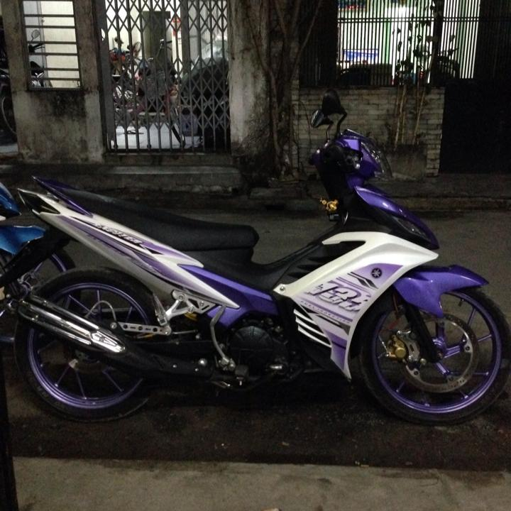 Exciter 135 phong cach tim thuy chung do len 150cc cuc chat - 3