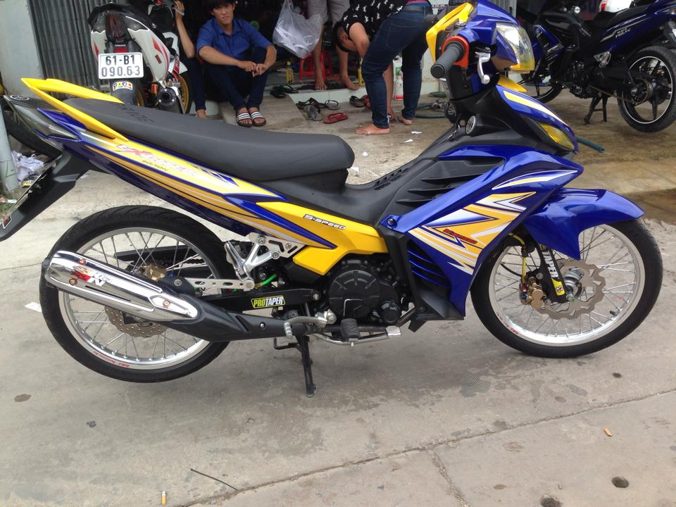 Exciter 135cc phien ban moi dep nhe tung nhung duong net