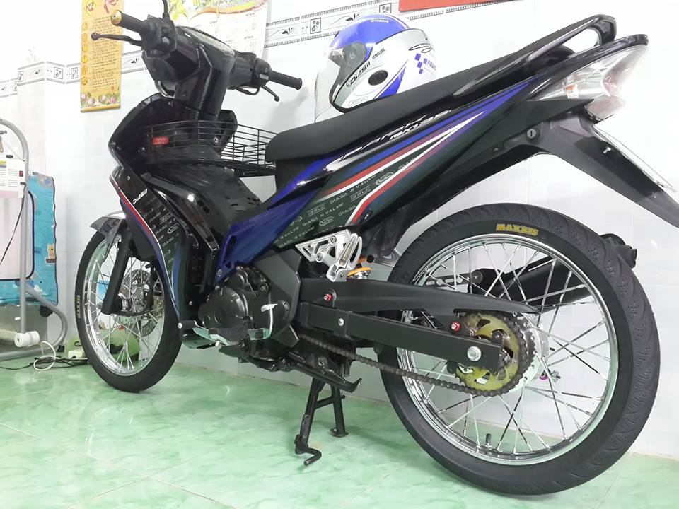 Exciter 135cc do theo phong cach huyen thoai - 4