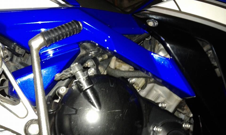 Exciter 135cc do phong cach x1r cuc chat trong tung chi tiet - 2