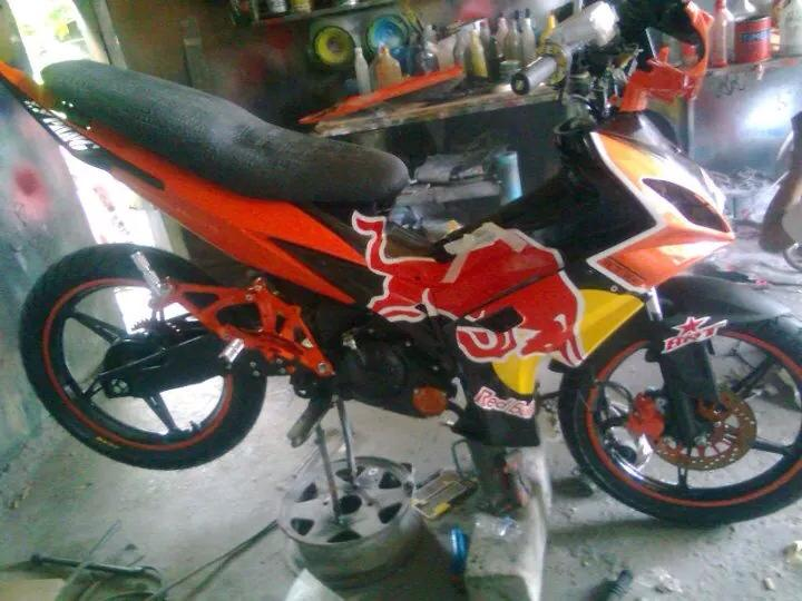 Yamaha Exciter do RedBull phien ban bai ben Touring - 2