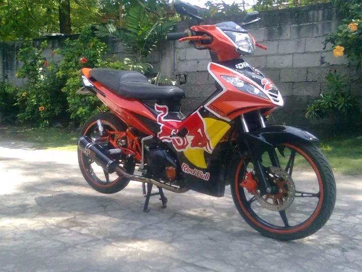 Yamaha Exciter do RedBull phien ban bai ben Touring - 3