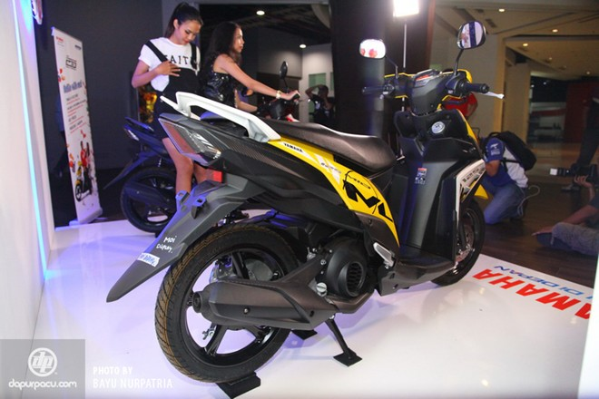 Yamaha ra mat Mio 125 Blue Core tai Indonesia - 2