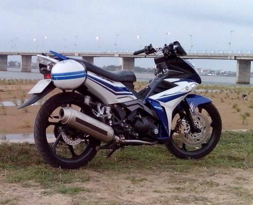 Yamaha X1R do doc voi po 4Road