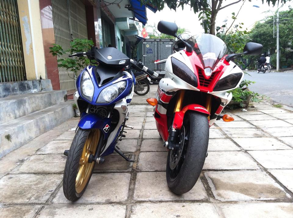 Yamaha X1R do doc voi po 4Road - 4