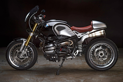 BMW R NineT Do phong cach Cafe Racer - 3