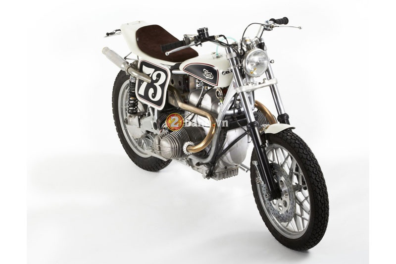 BMW R100RS Do theo phong cach Flat Tracker - 2