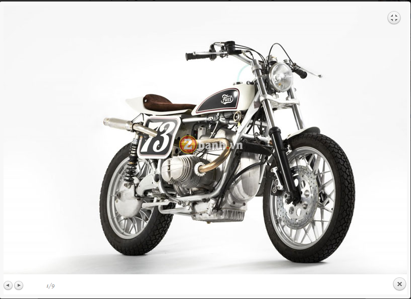 BMW R100RS Do theo phong cach Flat Tracker - 3