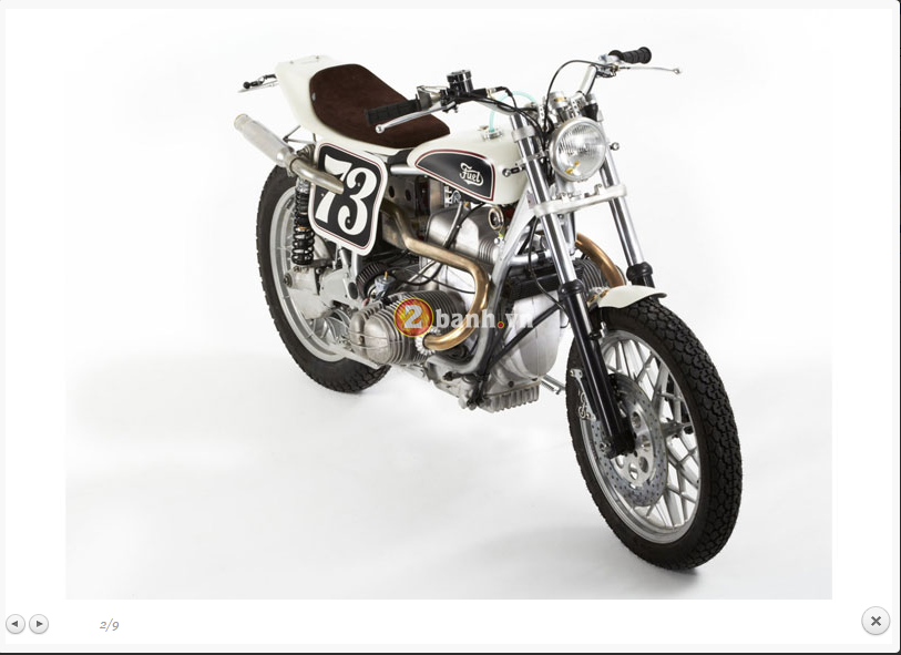BMW R100RS Do theo phong cach Flat Tracker - 4