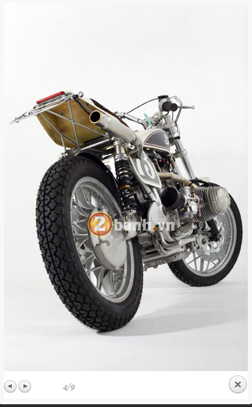 BMW R100RS Do theo phong cach Flat Tracker - 6