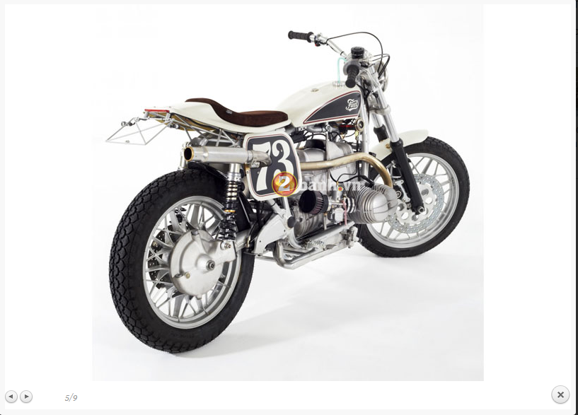 BMW R100RS Do theo phong cach Flat Tracker - 7