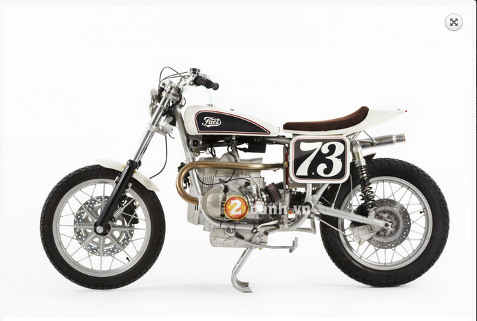 BMW R100RS Do theo phong cach Flat Tracker - 8