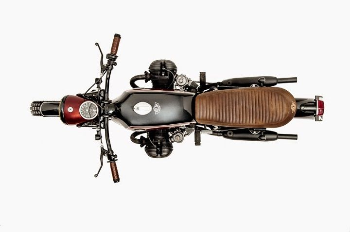 BMW R755 do chat voi phong cach Brat Style - 3