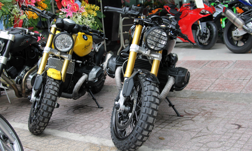Bo doi BMW R nineT Do ve Viet Nam