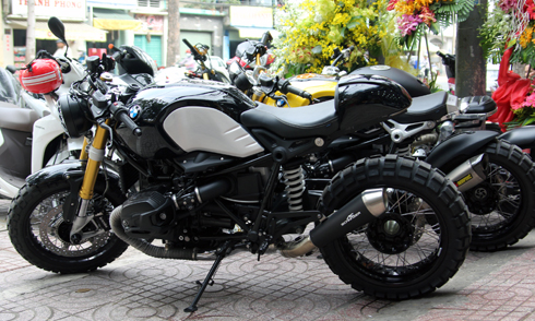 Bo doi BMW R nineT Do ve Viet Nam - 2