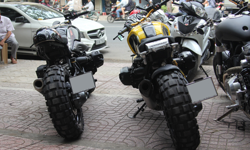 Bo doi BMW R nineT Do ve Viet Nam - 3