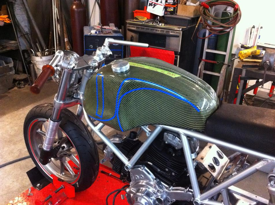 Can canh qua trinh do Riviera Ducati SS phong cach Cafe Racer - 14