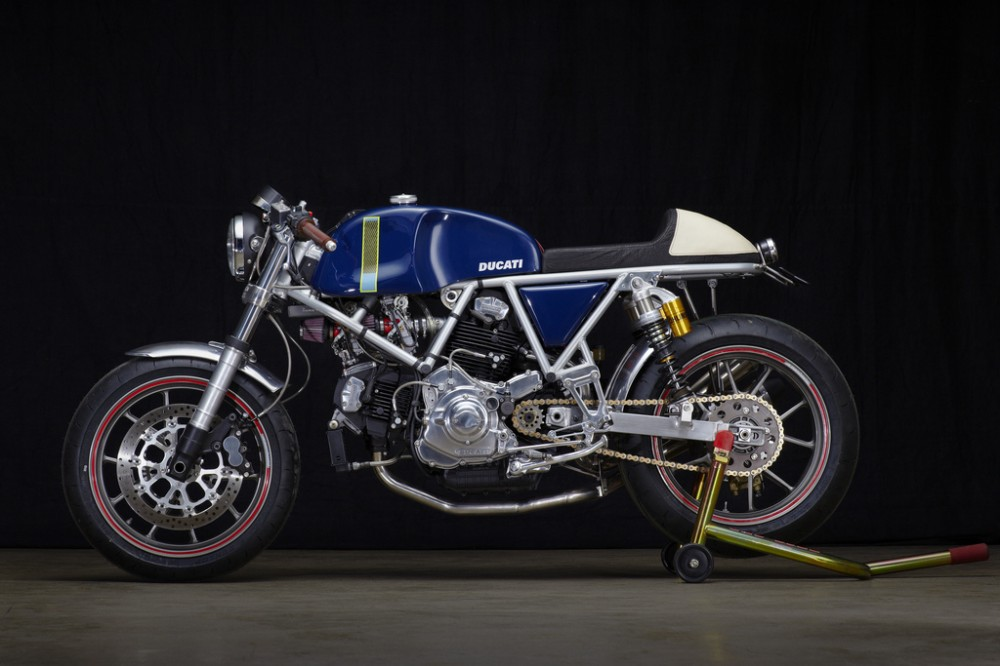 Can canh qua trinh do Riviera Ducati SS phong cach Cafe Racer - 22
