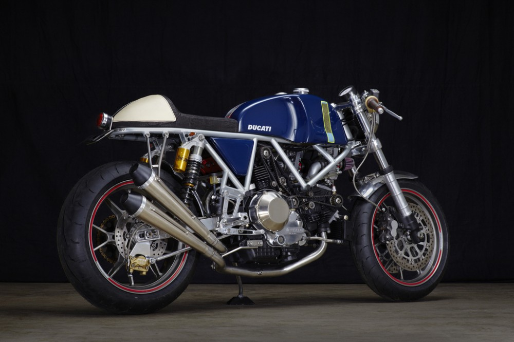 Can canh qua trinh do Riviera Ducati SS phong cach Cafe Racer - 24