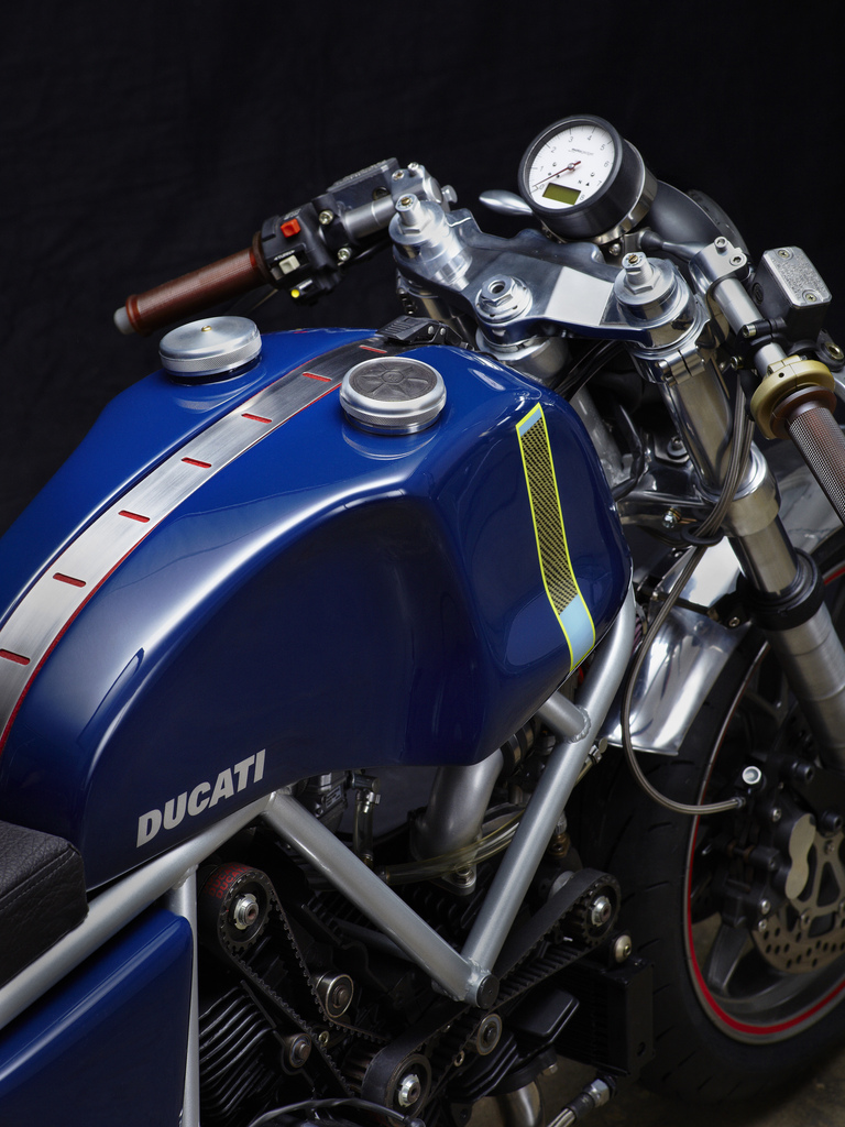 Can canh qua trinh do Riviera Ducati SS phong cach Cafe Racer - 25