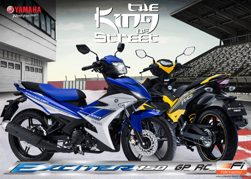 Cuoi tuan nay la den su kien Exciter 150 Fi The King Of Street