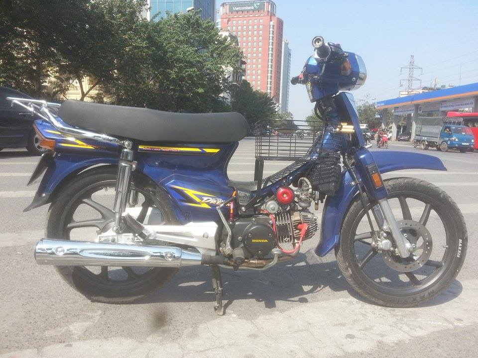 Dream do mau xanh cuc chat cua mot biker o Ha Thanh - 3