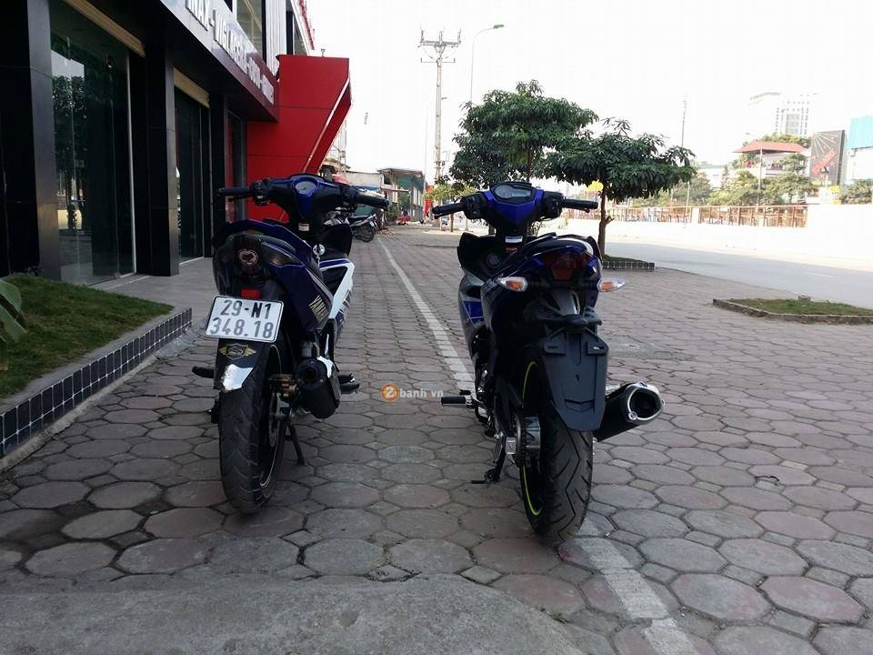 Exciter 150 so dang Exciter 135 cua Biker Ha Thanh - 8