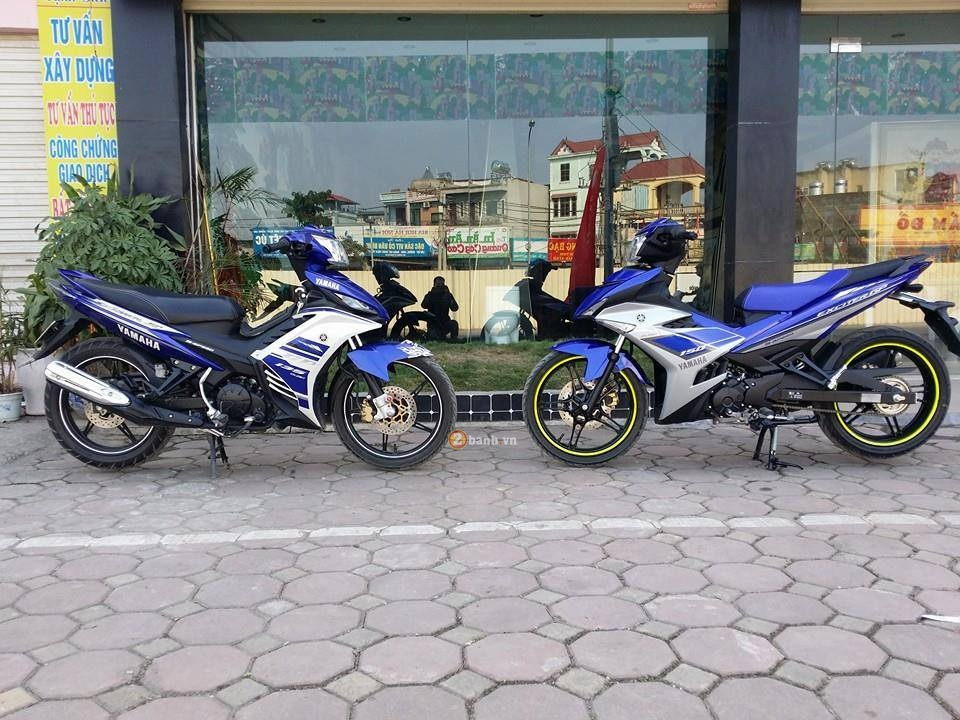 Exciter 150 so dang Exciter 135 cua Biker Ha Thanh - 9