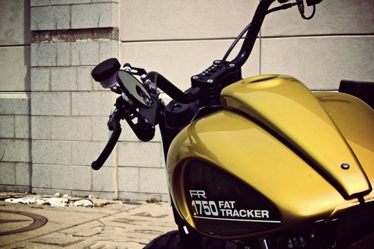 HarleyDavidson Fat do phong cach Tracker voi dong co khung - 4