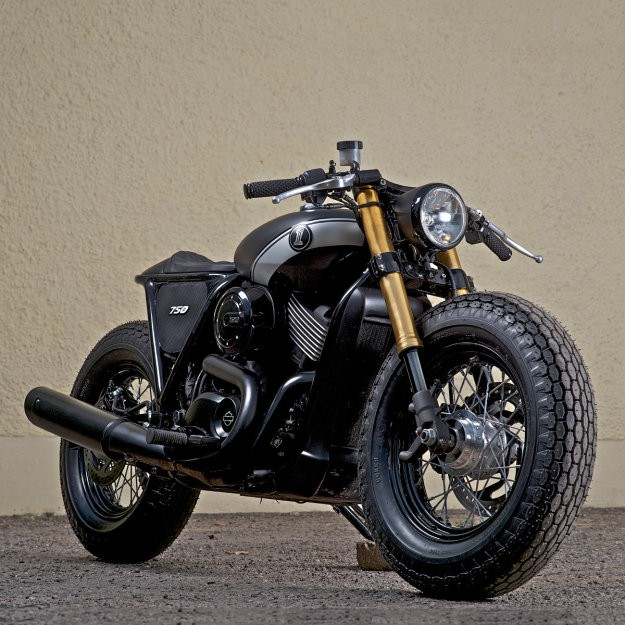 Harley Street 750 Do phong cach Cafe Racer - 2