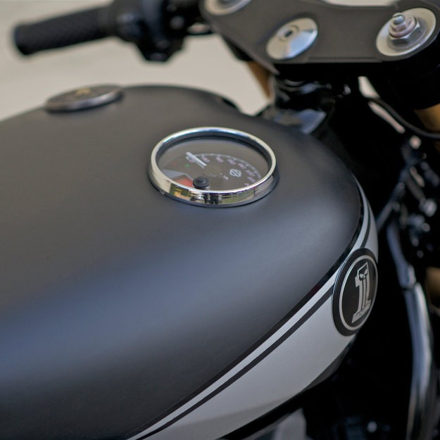 Harley Street 750 Do phong cach Cafe Racer - 3